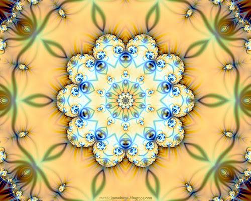 Fractal Mandala Wallpaper