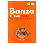 Banza Shells Made from Chickpeas Pasta, 8 oz, 6 Count