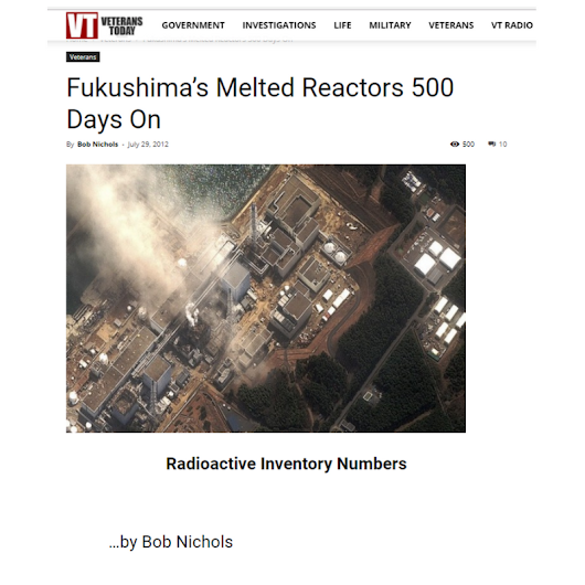 Fukushima's Melted Reactors 500 Days On
