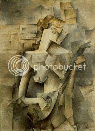 Picasso - Tocadora de Bandolim