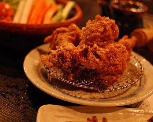 Karaage, fried chicken
