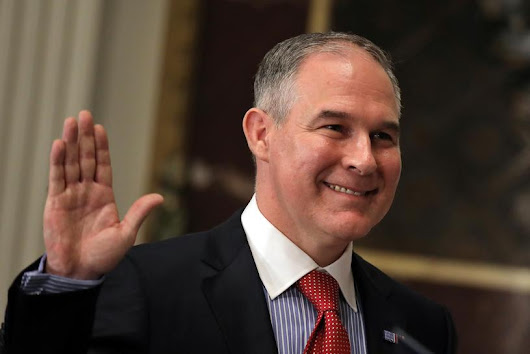 EPA chief unconvinced on CO2 link to global warming