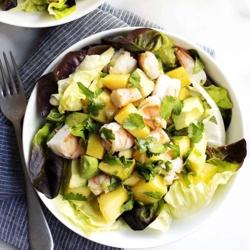 Avokadolu karides salatası - Karidesle yapılabilecek yemekler - 2