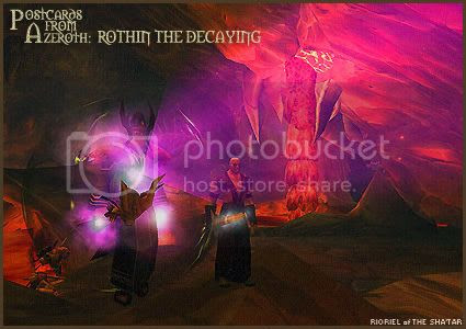 Postcards of Azeroth: Rothin the Decaying, by Rioriel Ail'thera