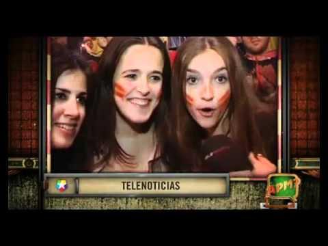 video que muestra la Celebración Eurocopa 2012