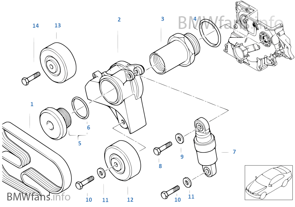 Bmw M47 Belt Diagram