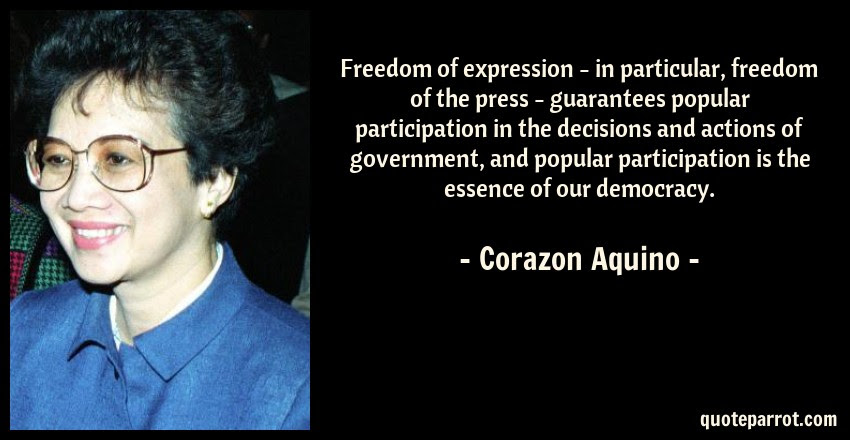 Freedom Of Expression In Particular Freedom Of The P By