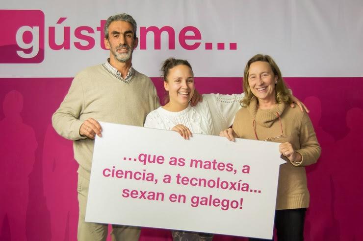 Campaña 'Gústame o galego', da Coordinadora de Traballadores/as de Normalización da Lingua / ghafos.blogspot.com.