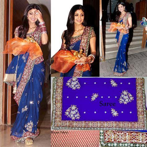 Indian Bollywood Designer Replica Shilpa Shetty Ethnic