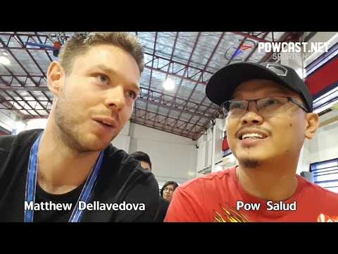 Powcast: Matthew Dellavedova in Manila, Talks about his signature shoe, LeBron and Giannis
