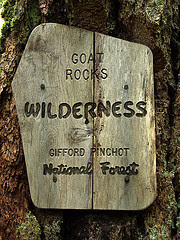 Wilderness Sign