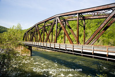 Railroad Bridge, Built 1916, Thurmond, West Virginia