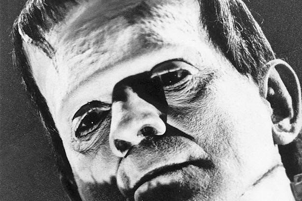 Boris Karloff in the 1931 motion picture Frankenstein