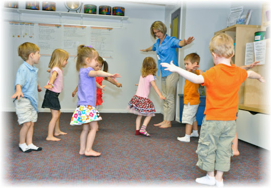 Spatial Awareness - How Kindermusik Benefits your Child