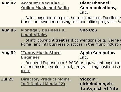 the digital audio insider job board