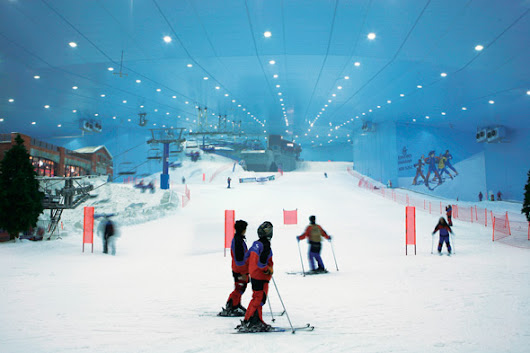 Toronto is getting an indoor ski and snowboard hill