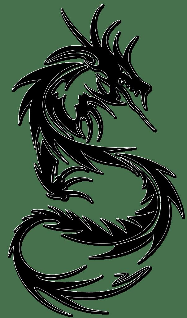 Dragon Tattoo Transparent Png Stickpng