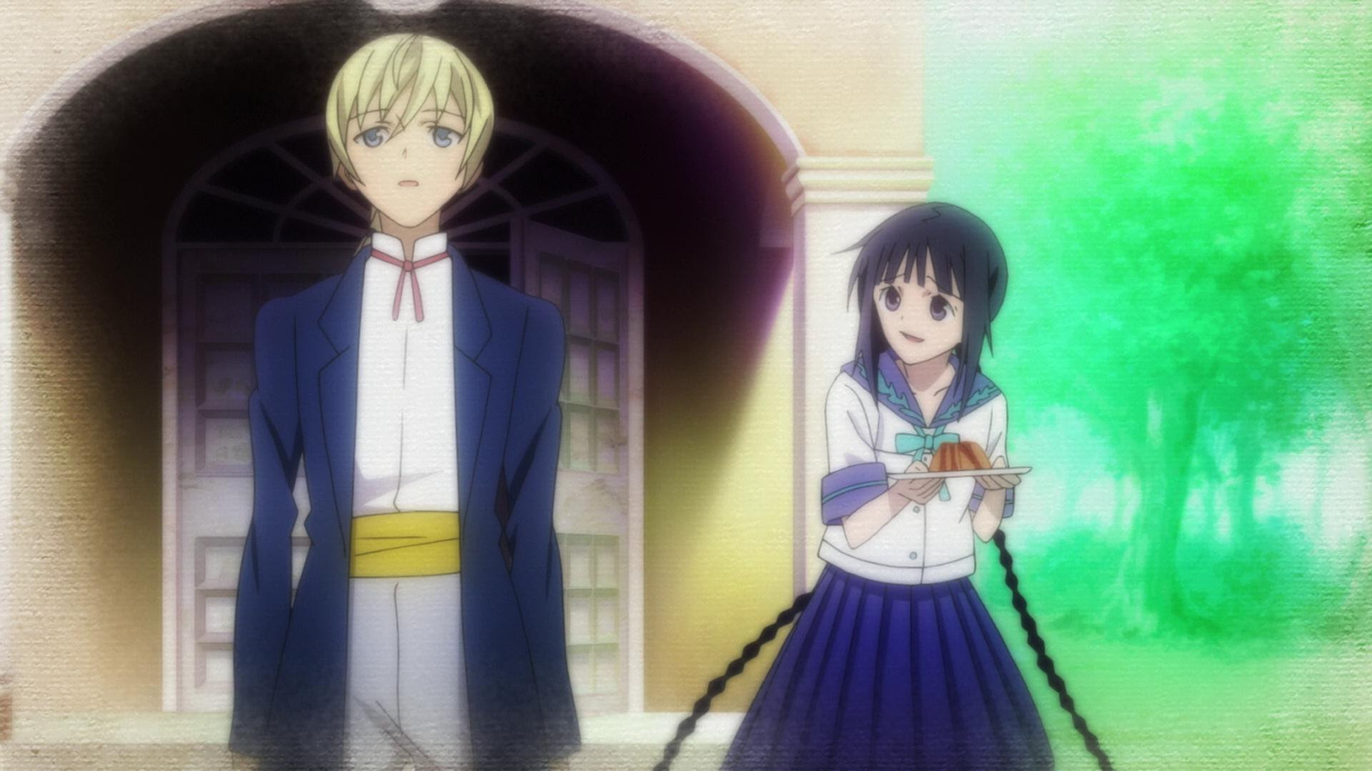 Resultado de imagem para Bungaku Shoujo – Kyou no Oyatsu ~ Hatsukoi
