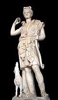 0 Artémis (Diane) - Galleria dei Candelabri - Vatican.JPG