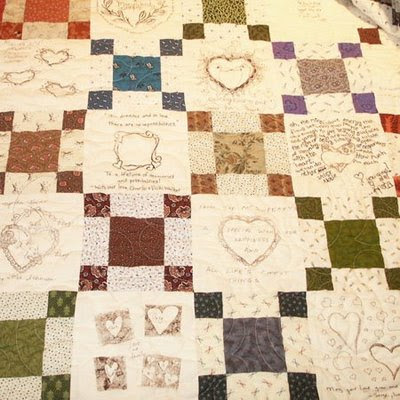Memory Quilt :  wedding palm springs Quilt2