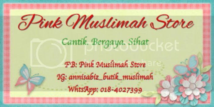 pink muslimah store butik muslimah online