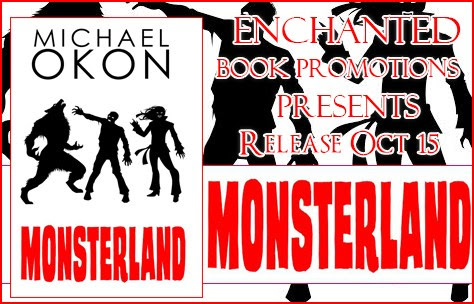 Release Blitz: Monsterland- A YA Horror Story