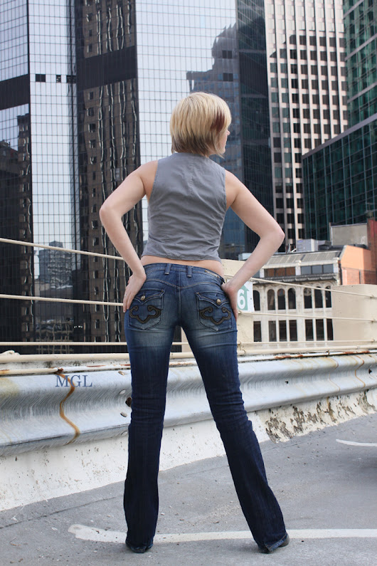 Skinny Jeans Modeling | Fashion Modeling | TFP Photo Shoot