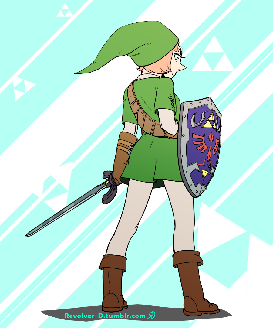 Link Pearl, inspired from this post by @pearl-likes-pi! she knows something about sword!