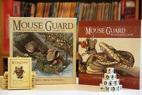 Mouse Guard RPG Second Edition Boxed Set (10th Anniversary Sale)