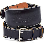 Hemori Genuine Cowhide Leather Pro Weight Lifting Belt for Men and Women | Durable Comfortable & Adjustable with Buckle | Stabilizing Lower Back
