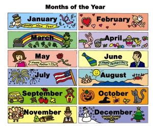 Months Of The Year Video Kinder Fun Show