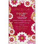 Pacifica Disobey Time Rose & Peptide Natural Fiber Facial Sheet Mask 1 Count