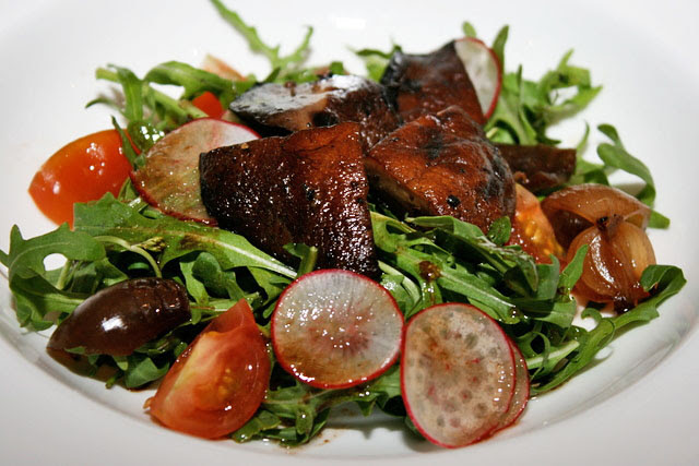 Grilled Portobello Salad