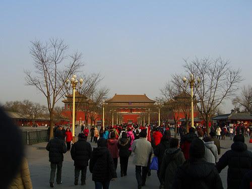 Approaching Duanmen - Forbidden City