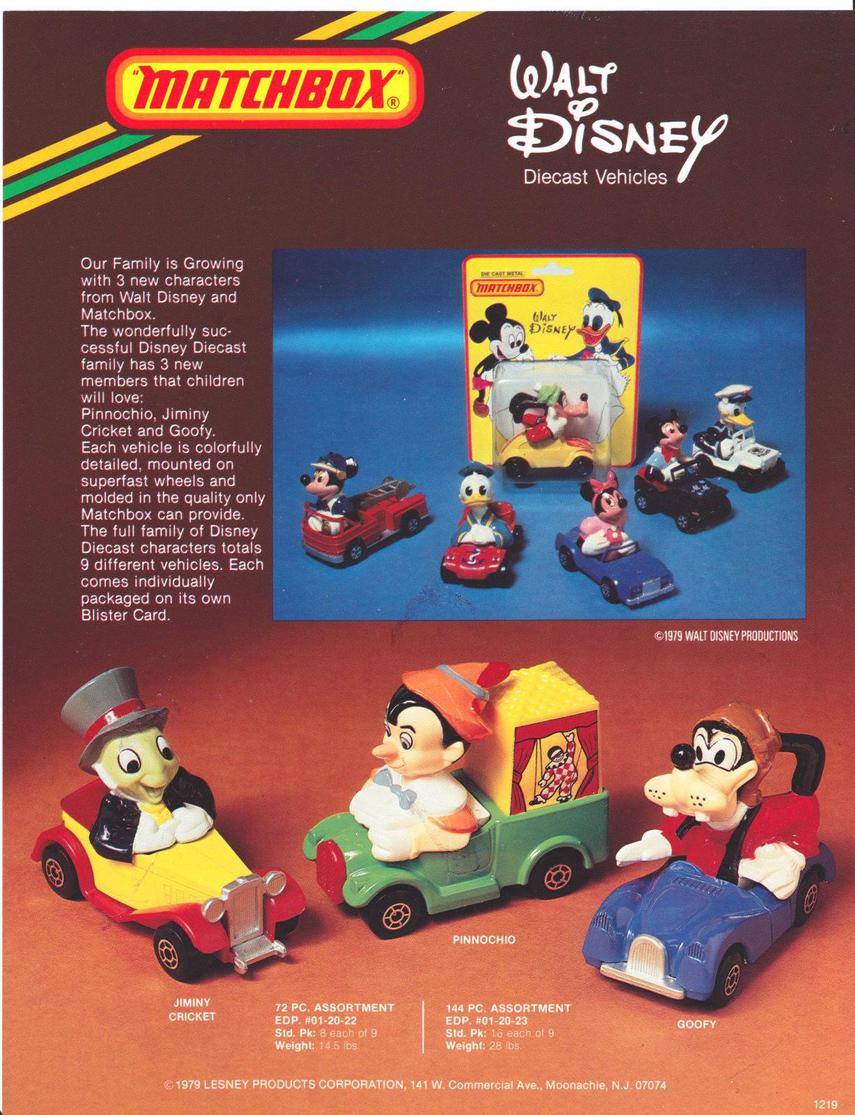 Disney Matchbox Ruta flashback