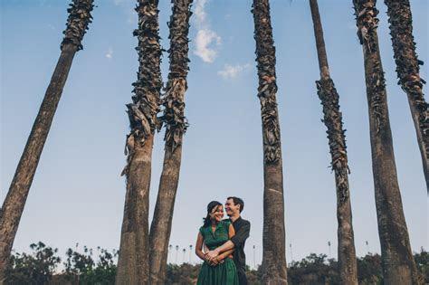 Elysian Park Engagement Photography   Downtown LA