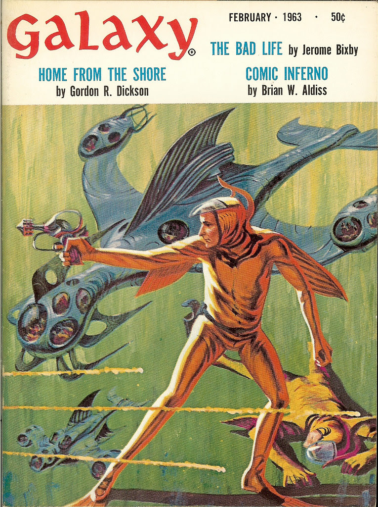 Jack Gaughan - Galaxy Magazine, Feb 1963