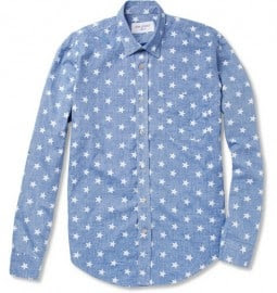 Our Legacy Success Star-print Cotton Shirt