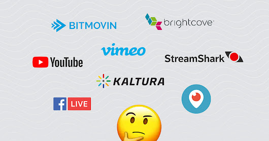Things to consider when choosing a live streaming platform