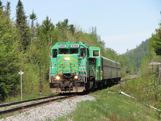 NB Southern Railway Rally of Hope Train, 2007