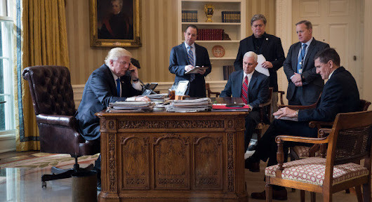 Trump's Oval Office: White House staff may have more access to president than any in modern history -- Sott.net