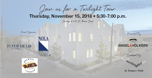 An Invitation : Twilight Tour & Happy Hour at Saint Thomas | Ninth