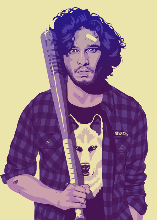 Game of Thrones Characters Reimagined As 1980s/1990s Stereotypes