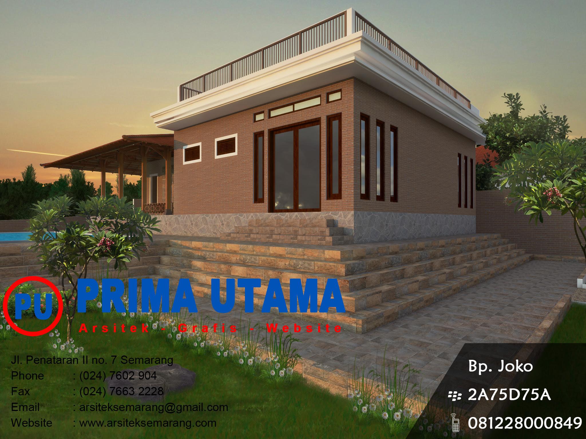 Gambar Jasa Desain Rumah Yogyakarta House Q