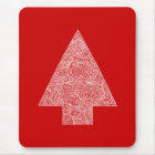 Red Tree mousepad