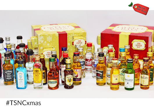 TSNC Advent Giveaway: 12 Days of Christmas Alcohol Gift Box! - Thou Shalt Not Covet...
