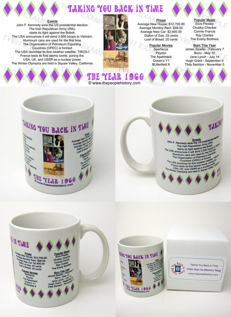 Coffee Mugs 1960, 1961, 1962, 1963, 1964, 1965, 1966, 1967 ...