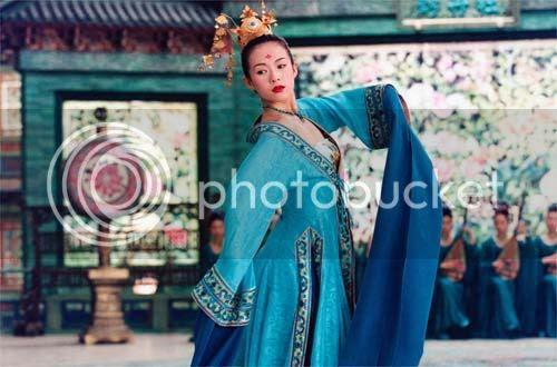 El baile de Zhang Ziyi