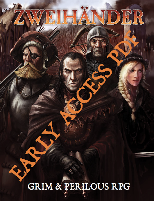 Early Access Version 2 Now Available at DriveThruRPG.com – Grim & Perilous RPG