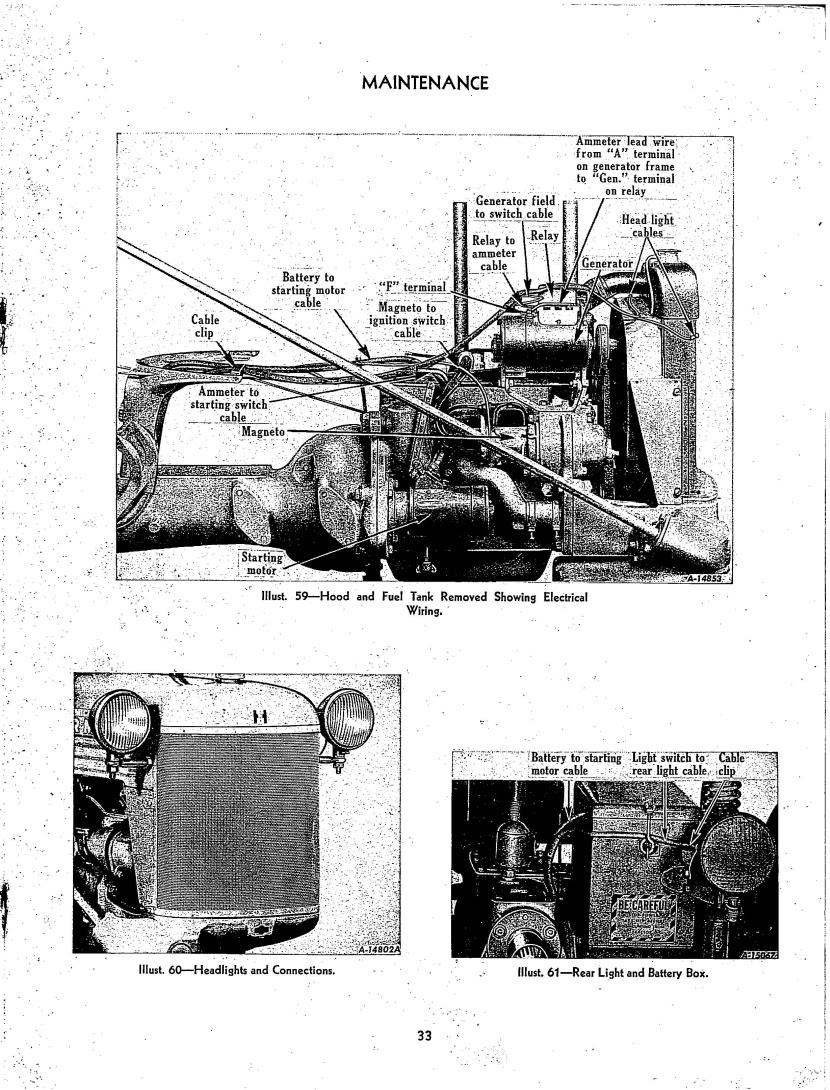 Farmall Cub Wiring Diagram For 1961